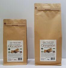 """Premium Cinnamomum Zeylanicum """"True"""" Cinnamon Powder- 500g/1kg"""