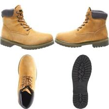 Men'S Gold Size 9 M Gold Waterproof 6 In. Work Boots Soft Toe