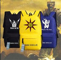 Dark Souls Sac à dos pour ordinateur portable Sac d'école Sac de voyage