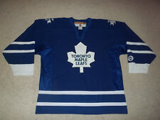 Vintage sewn Toronto Maple Leafs Koho Blue Adult Men's XL Hockey Jersey EUC