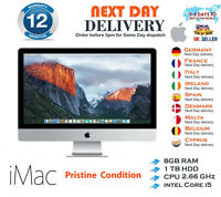 "Apple iMac 27"" A1312 Core i5 2.66GHz 8GB RAM 1TB HDD MaC OS Late 2009 A+ Grade"