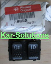 Alfa Romeo 156 Front and Rear Fog Light Lamp Switch P/N 156016826 Genuine New
