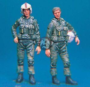 Legend 1/48 Modern US Pilots (2 Figures) [Resin Aircraft / Diorama Model] LF4808