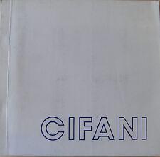 Cifani - Opere recenti 1975 - 1978
