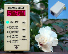 Hydroponic Timer, Repeat cycle timer, Digital Cycle, for green house or other.