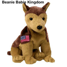 TY BEANIE BABY NYPD  * COURAGE * THE GERMAN SHEPARD RESCUE DOG