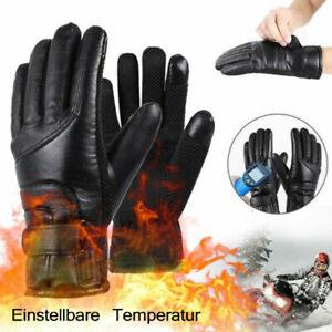 Unisex Motorrad Beheizte Warme Handschuhe Elektrische Heizhandschuhe Touchscreen