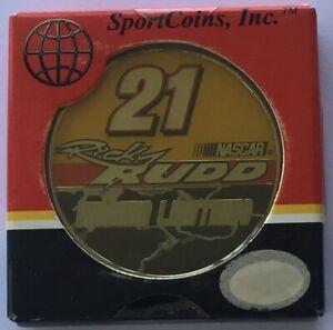 2005 Ricky Rudd #21 - Motorcraft - Wood Bros Racing- NASCAR Challenge Sport Coin
