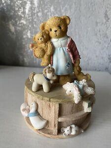 Enesco Teddy Bears Picnic Musical Ornament - #107081 - Cherished Teddies