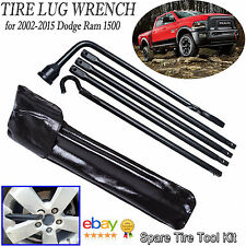 Tool KIT Spare Tire Lug Wrench For Jack Replacement Set 2002-2013 Dodge Ram 1500