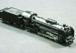206 Kato Japanese N Gauge Railways DF1 Vintage Steam Locomotive 2-8-2 in Case