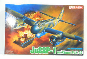 1/48 Dragon - Junkers Ju 88 P-1 with 75m Pak