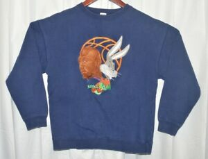 Vtg. Space Jam 1996 Michael Jordan Bugs Bunny Crewneck Sweater. Kids XL.