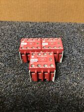 Allen-Bradley 100S-F A31 Auxiliary Contact Block-Lot of 3
