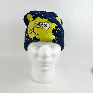 Nickelodeon Sponge Bob Navy Blue Winter Hat Cap Beanie Boys Youth Size 4 to 16
