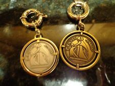 Stunning LANVIN Bag Charm VERY RARE Silver color Gold color JUST 1 CHARM $10 OFF
