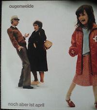 Ougenweide  –  Noch aber Ist April  Vinyl LP 12´ Deutschrock Folk Augenweide ND