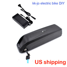 48v 10ah LG lithium battery in Hailong1 case 2A charger for electric bike ebike