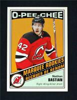 2019-20 UD OPC O-Pee-Chee Retro Blank Back Marquee Rookie Nathan Bastian