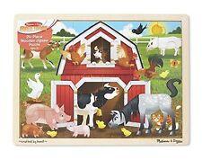 Melissa & Doug Barnyard Jigsaw Puzzle 24pce