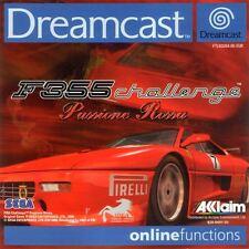 Sega Dreamcast juego-f355 Challenge Passione Rossa (con embalaje original)