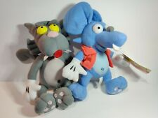 The Simpsons - Itchy & Scratchy Show - 2x Plush 2018 Toy Factory