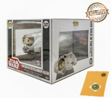ATV Protector for Star Wars Millennium Falcon With Han solo Funko Pop
