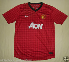 Manchester United / 2012-2013 Home - NIKE JUNIOR Shirt / Jersey. 13-15y, 158-170