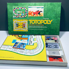 Waddingtons Totopoly- The Great Race Game Vintage 1972 Version