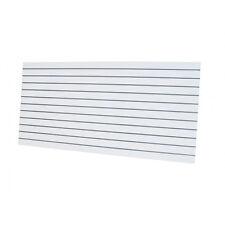 10 x Slatwall Sheets 2400x1200-White- Landscape 18mm Thick