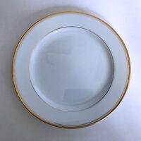 Vintage Noritake Goldlane 5084 Salad Plate White with Gold Trim