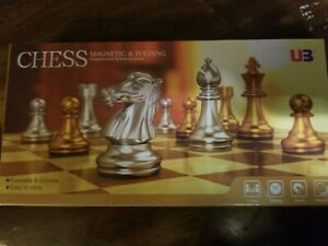 "11.5"" Magnetic Folding Chess Set-King 2"""