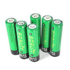 BORUiT 6x18650 6000mah Li-ion 3.7V PCB Protected Battery For Headlamp Flashlight