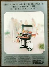 1979 Warm Morning Broilmaster Gas Grill Print Ad Ultimate in Outdoor Good Taste