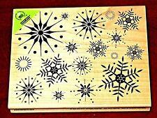 Hero Arts STUNNING Snowflakes Rubber Stamp S5069