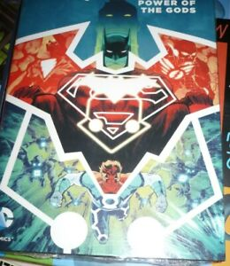 Justice League Darkseid War : Power of the Gods - DC Hardcover sealed unread