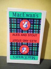 MacEwan's Ales and Stout Vintage Playing Cards,Scottish & Newcastle Breweries