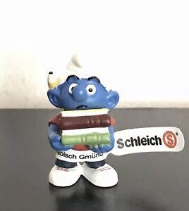 Smurfs 20464 Studious Smurf Student School Books Figure Vintage Figurine Tag New