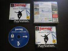 THRASHER presents SKATE AND DESTROY : JEU Sony PLAYSTATION PS1 PS2 (complet)