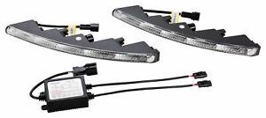 LED Tagfahrlicht Ultra Small Riffelglas 12V 10 x SMD LEDs für Mitsubishi TFL9