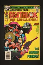 Astonishing Tales #36 - HIGHER GRADE - Marvel Comics