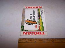 Vintage TROJAN TX Seed Corn Company Memo Book Olivia Minnesota Windfall Indiana