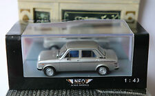 FIAT NUOVA 128 1100 CL 1976 MK2 SPORT SILBER NEO 45115 1/43 SILVER ARGENT GRIS