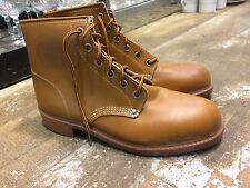 Vtg '70 TAURUS worker hipster rockabilly moc mens boots sz 10 gay interest