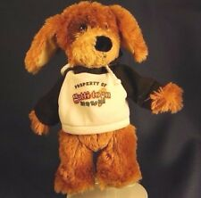 "Brown Dog Gatti Town Pizza Hoodie Lovey  9"" Plush Good Stuffed Animal Lovey Toy"