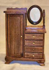 Vintage Victorian Closet Walnut #6254 Dollhouse Furniture Miniatures
