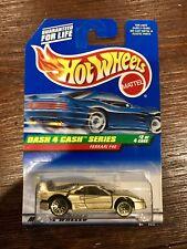 Hotwheels Ferrari F40 Gold Dash 4 Cash No Tampos Variation Mattel RARE ERROR