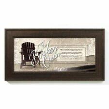 NEW James Lawrence The Broken Chain Framed Wall Art 3054