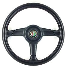 Genuine Nardi, Personal 360mm black leather steering wheel. Alfa Romeo.   8A