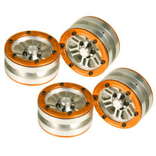 1.9'' Alloy Beadlock Wheels Rim for RC 1:10 Crawler Car SCX10 CC01 D90 TRX-4